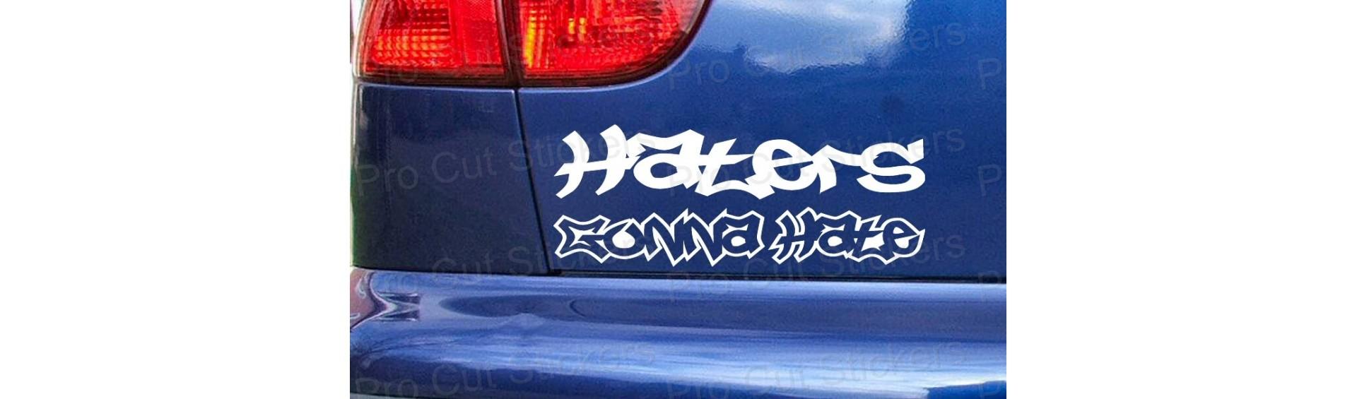 Haters Scene Stickers