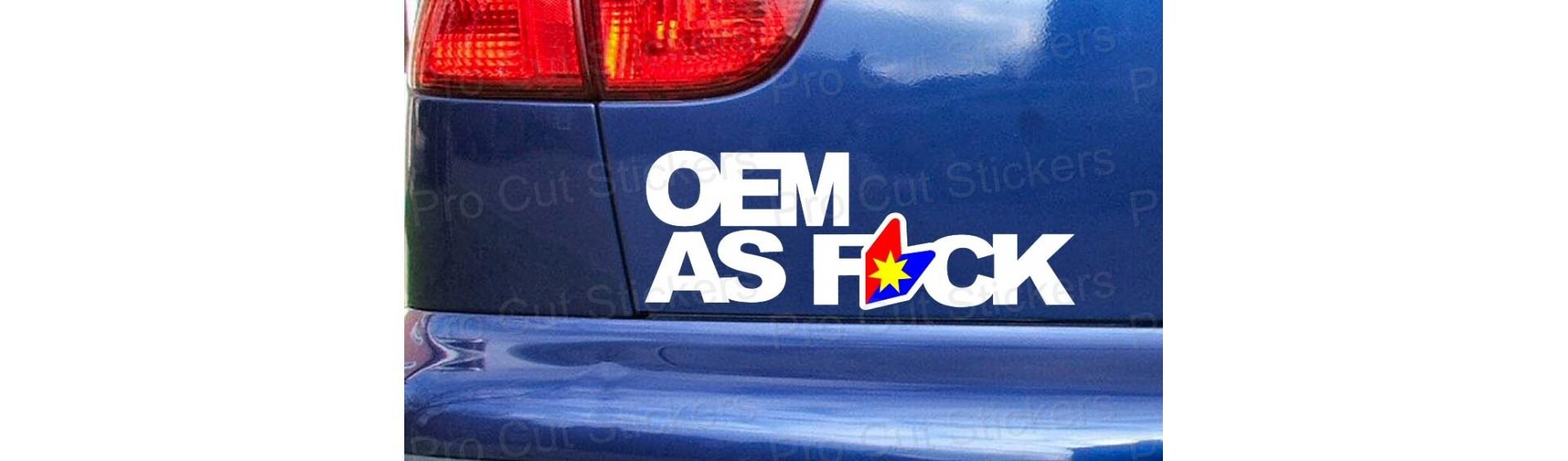 OEM Stickers