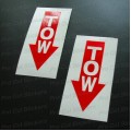 TOW Stickers