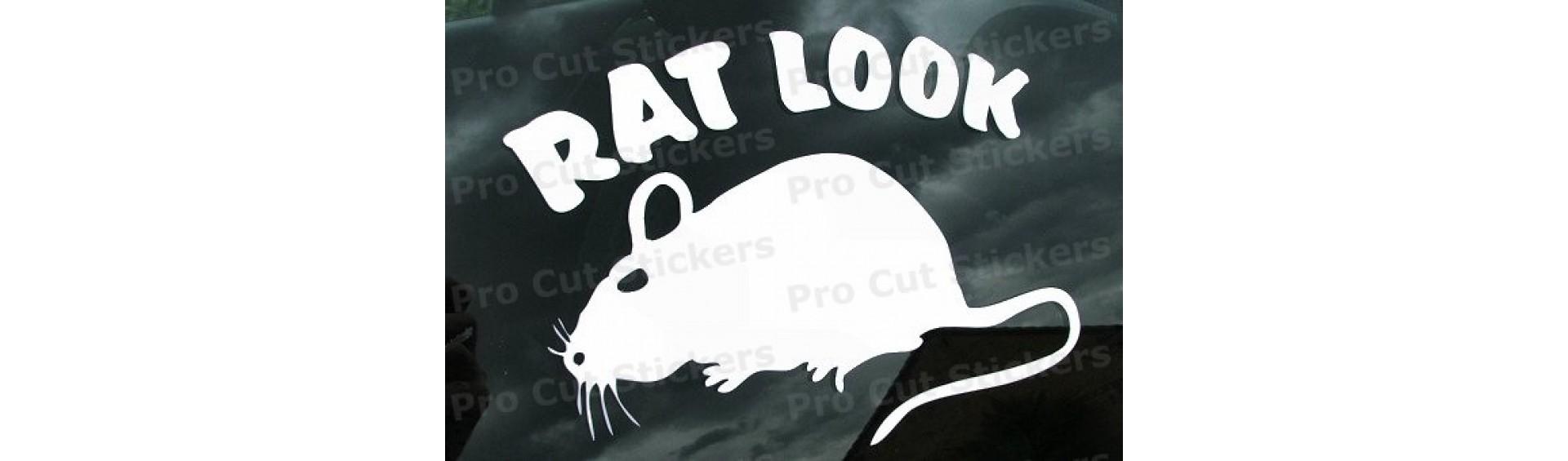 Rat Look Stickers